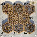 Podtácek hexagon
